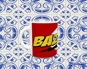 CANECA BAZINGA - THE BIG BANG THEORY