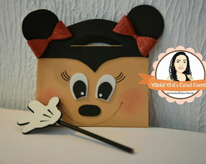 Maletinha Brochura Minnie