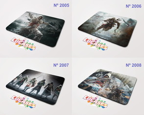 Mouse Pad Assassin's Creed 2 3 4 Unity