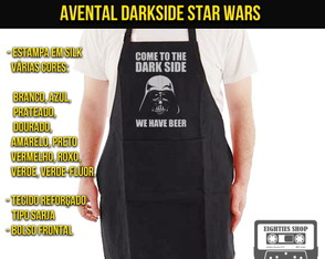 Avental Darkside Star Wars Darth Vader
