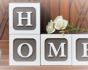 Letra decorativa HOME
