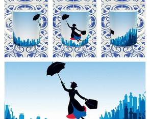 CANECA Mary Poppins