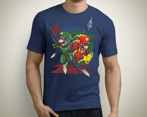 Camiseta Mario e Luigi Flash 089