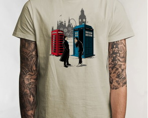 Camiseta Doctor Who David Tennant 5134