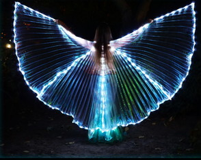 Wings LED Asa Dança do Ventre