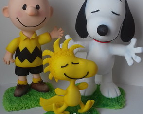 Kit Turma do Snoopy 20 e 30 cm