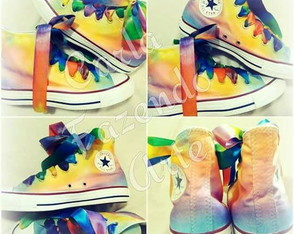 all star personalizado tie dye colors