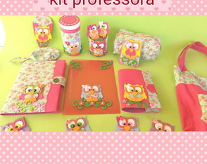 kit professora coruja