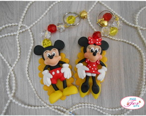 Chaveiro Mickey ou Minnie
