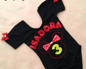 "Camiseta personalizada ""Minnie Mouse"""