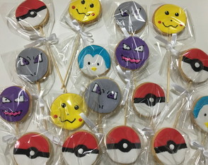Biscoito decorado Pokemon!!