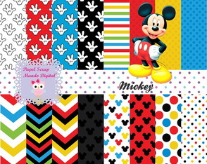 KIT PAPEL DIGITAL MICKEY 23-5