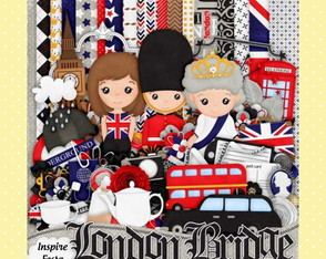 Kit Digital Londres Soldadinho De Chumbo