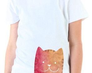 Camiseta Infantil Loved Cat 01