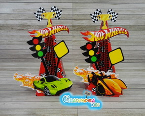 Cone Personalizado Hot Wheels