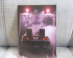 Quadro Decorativo Delorean
