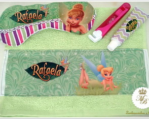 Kit festa do Pijama TinkerBell