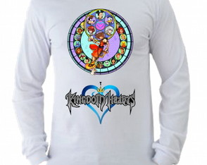 Camiseta Kingdom Hearts manga longa 5