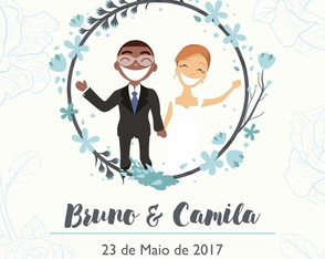 Save the Date Digital - Groom and Bride