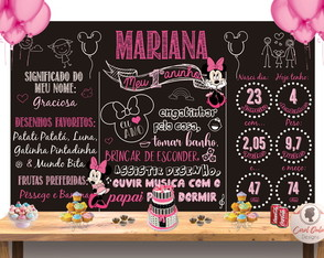 Chalkboard Minnie | ARTE DIGITAL