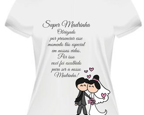 Camiseta Super Madrinha 01
