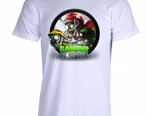 Camiseta Plants vs Zombies - 05