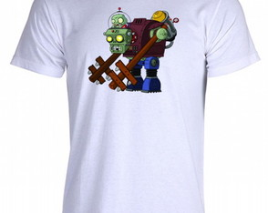 Camiseta Plants vs Zombies - 14