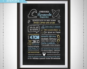 Chalkboard Digital Surfista