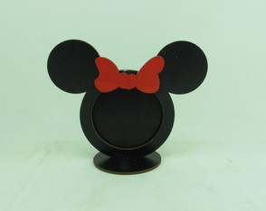 Porta Retrato Mickey/Minnie MDF Pintado!