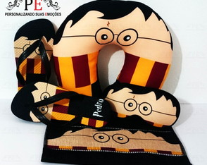 Kit festa do pijama Harry Potter