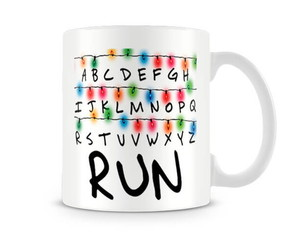 Caneca Stranger Things Light Run