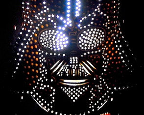Luminária Darth Vader Star Wars