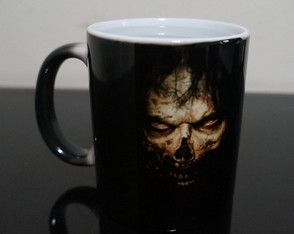 Caneca Mágica The Walking Dead zumbi