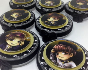 Latinha Mint to be - BTS Chibi