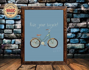 Quadro Vintage Ryde Your Bicycle
