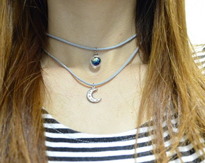 Choker Double Moon