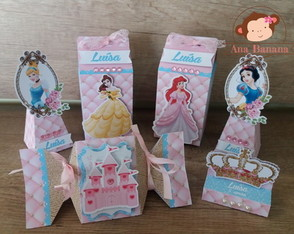 Kit festa princesas - Disney