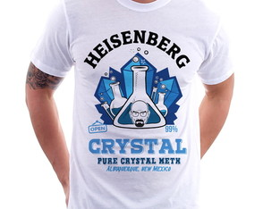 Camiseta Breaking Bad Crystal