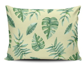 Almofada Monstera Tropical Decorativa
