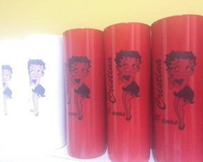 Copo long drink betty boop