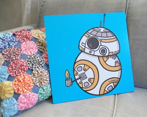 Quadro Decorativo BB-8