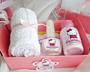 Lembrancinha Kit Manicure Hello Kitty
