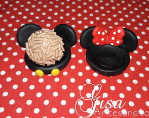 Forminha Minnie e Mickey