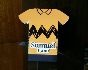 Caixa Camisa Charlie Brown Snoopy