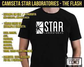 Camiseta Star Laboratories The Flash