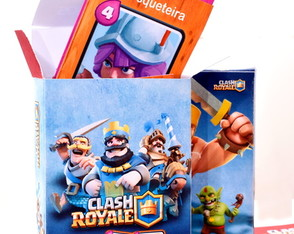 Cartas Clash Royale Completo + Baú