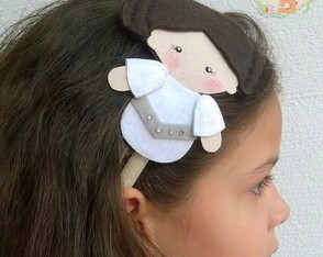 Tiara Princesa Leia Star Wars