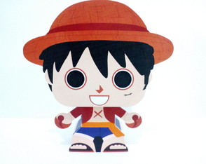 Paper Toy 3D Luffy One Piece