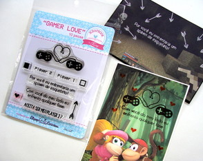 Kit Gamer Love - Scrapbook by Tamy