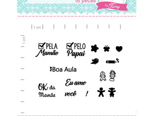 Kit Visto dos Recado - Scrapbook by Tamy